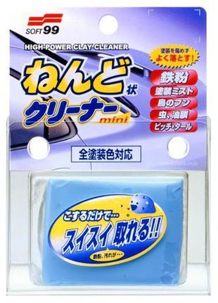 SOFT99_HIGH POWER CLAY CLEANER — очиститель въевшихся загрязнений
