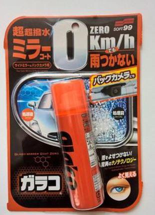 SOFT99_GLACO Mirror Coat Zero_Нано покрытие для зеркал