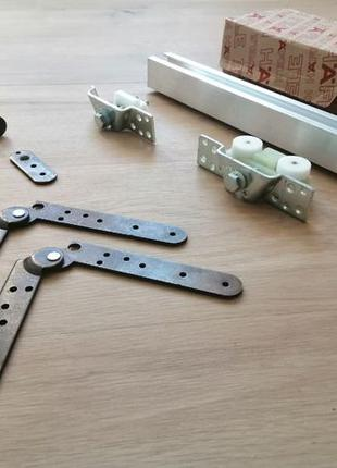 Система для складных дверей Hafele Fold 50-K (на два полотна)