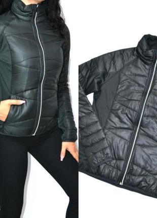 Черная демисезонная куртка crivit, ветровка