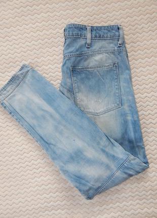 Джинсы джинси рвані рваные слим фит зауженые g-star raw