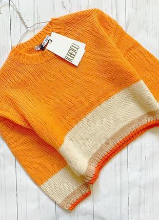 Яркий свитер италия to be too