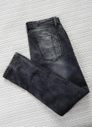 Джинсы джинси slim слим фит рвані рваные с потертостями dpv