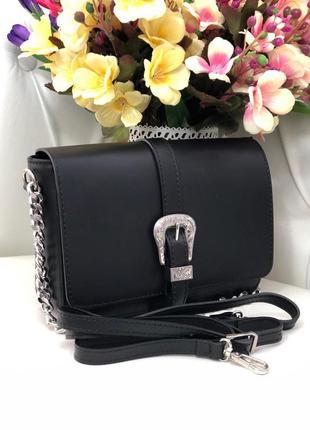 Кожаная сумка в стиле валентино италия