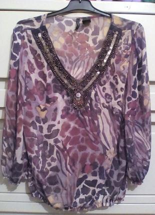 Шифоновая блуза в восточном стиле new directions