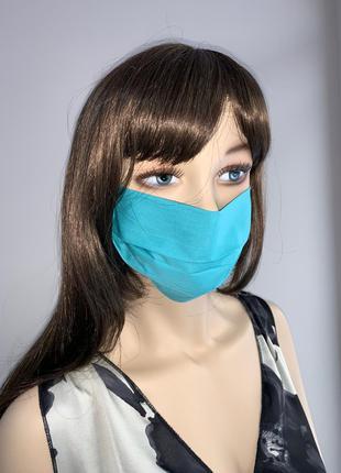 Повязка, маска из хлопковой ткани для защиты органов дыхания