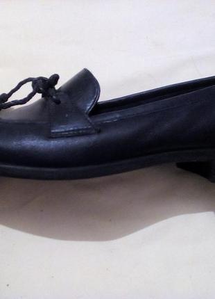 Кожаные туфли naturalizer 38-39