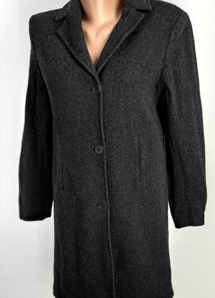 Пальто кашемир на пуговицах esprit размер 38