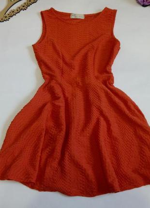 Платье мини 46 48 размер красное нарядное распродажа top vip к...