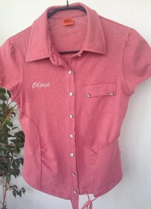 Стильная кофточка, блузка на пуговичках