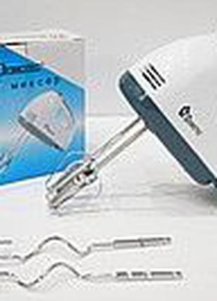 Миксер ручной Domotec 7 скоростей мощный кухонный миксер элек