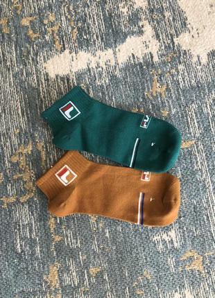 Носки в стиле fila, новые!