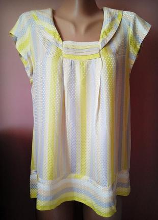 Обалденная шелковая блуза, топ marc by marc jacobs