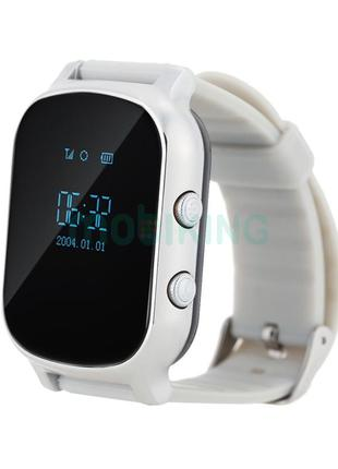 Детские умные часы с GPS трекером GW700 (T58) Silver