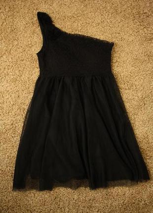 Платье bik bok, вкладыши в лифе, вышивка+ сетка