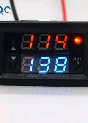 Электронное реле времени врезное на 12 вольт. Циклическое