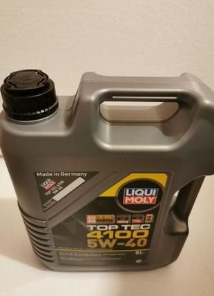 Liqui Moly Top Tec 4100 5W-40 (5л)
