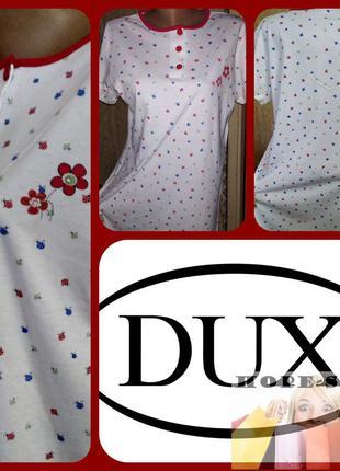 Домашнее мягенькое трикотажное платье ,ночная рубашка,сорочка ...