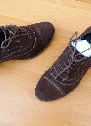 Демисезонные, весенние женские шикарные туфли на каблуке фирмы...