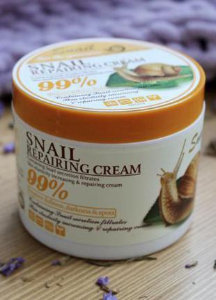 Крем для тела Wokali Snail Repairing Cream, 115 г.