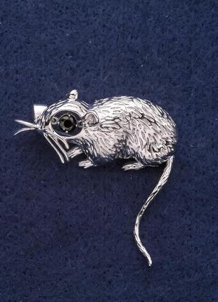 Брошь крыса
