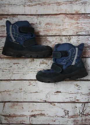 Ботиночки термо, мембрана текстиль+замша, р.24, 15,5см стелька