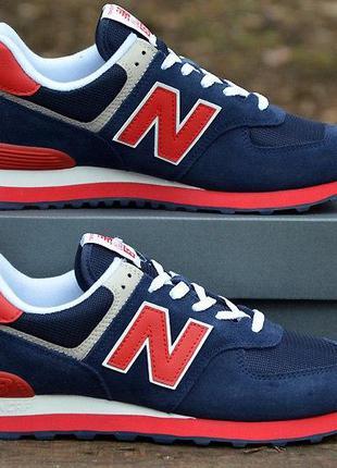 Оригинал new balance! модные мужские кроссовки 574 модель ml57...
