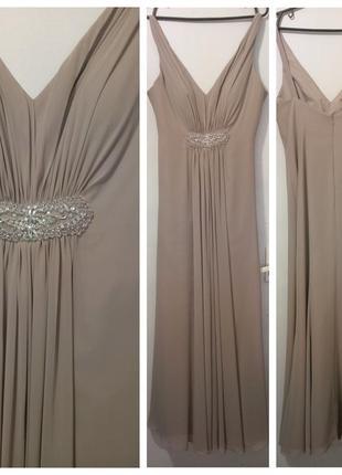 Вечернее макси платье kelsey rose р.14