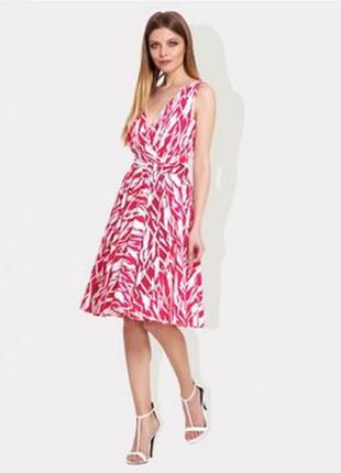Стильное платье юбка-солнце ossie clark, без бирки