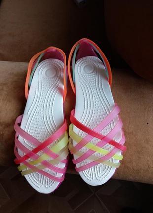 Пляжные сандалии балетки, витринная пара