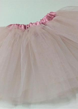 Юбка фатин розовая пачка