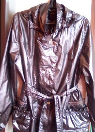 Эксклюзив куртка ветровка плащик  noble непромокаемая женская ...