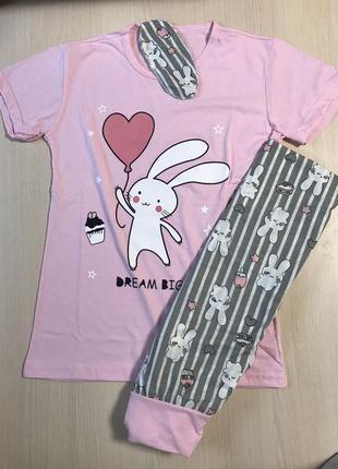 Пижама женская с маской для сна в подарок s-l