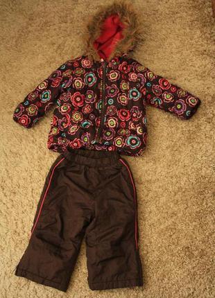 Комплект еврозима okie dokie сша, 18мес, куртка до 2х лет, отл...