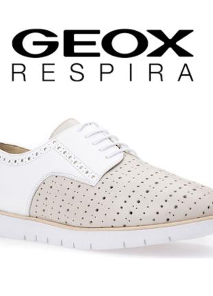 Geox туфли оксфорды оригинал из италии