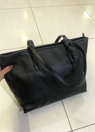 Шоппер италия натуральная кожа , кожаные сумки