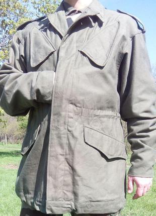 Голландская армейская куртка (KL gevechtsjas) 1990 г. -Настоящая!