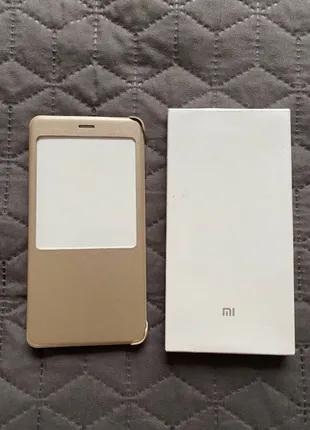 Чохол Xiaomi redmi note 4(c6) золотий
