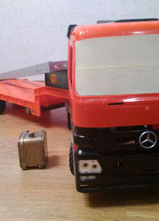 Модель грузовика Mercedes actors 1/16. На базе Tamiya.