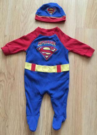 Костюм для новорожденных superbaby