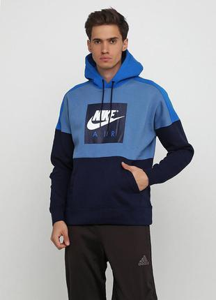 Кофта свитшот худи nike sport wear fleece po оригинал! - 15%