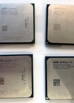 AMD Athlon II X2 250/240/140 сокет AM3, Частота 3000, ядер 2, кеш