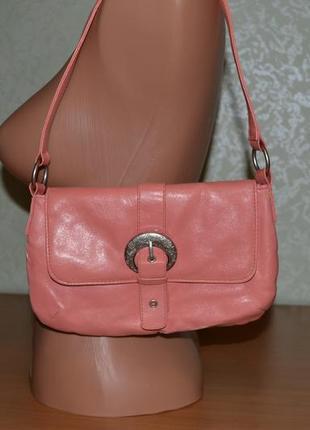 Сумка сумочка клатч цвета персик