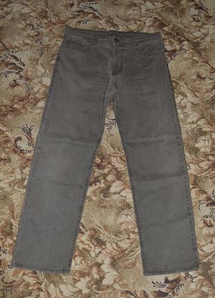 Брюки / джинсы мужские хаки-коричневые