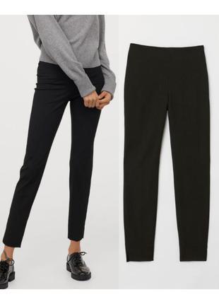 Черные брюки стрейч 38,40 sale