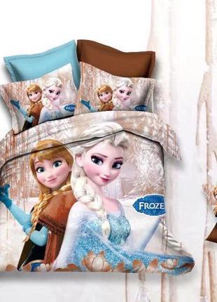 Детский комплект постельного белья холодное сердце анна и эльз...