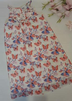 Роскошное яркое платье сарафан платье с бабочками bonprix bpc ...
