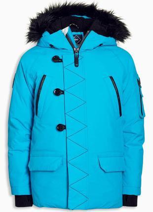 Next зимняя теплая куртка 10 лет
