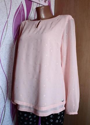 Блуза / кофточка / рубашка / цвета пыльной розы в ненавязчивые...