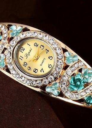 Часы - браслет женские кварцевые, подарок